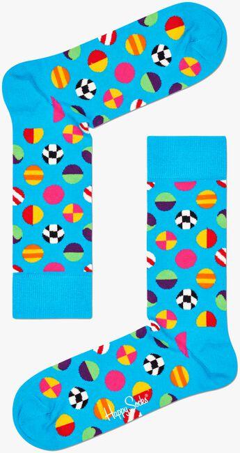 Weiße HAPPY SOCKS Socken CLASHING DOT SOCK  - large