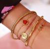 Goldfarbene MY JEWELLERY Armband MJ02525  - small