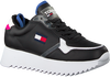 Schwarze TOMMY HILFIGER Sneaker low HIGH CLEATED TOMMY JEANS  - small
