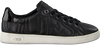 Schwarze GUESS Sneaker FLCE34 LEA12 - small