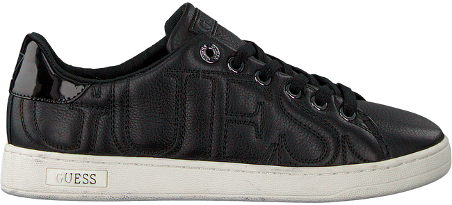 Schwarze GUESS Sneaker FLCE34 LEA12 - large