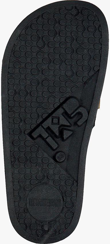 Schwarze THE WHITE BRAND Pantolette GLITTER PATCH  - larger