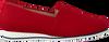 Rote HASSIA Slipper PIACENZA  - small