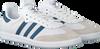 Weiße ADIDAS Sneaker SAMBA OG J  - small