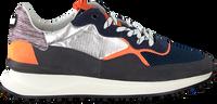 Silberne FLORIS VAN BOMMEL Sneaker low 16301  - medium
