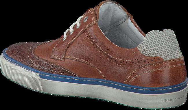 Cognacfarbene FLORIS VAN BOMMEL Sneaker 17249 - large