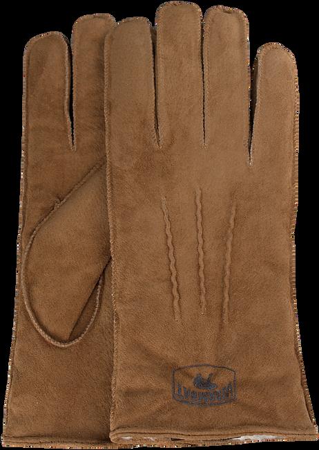 Cognacfarbene WARMBAT Handschuhe GLOVES WOMEN SUEDE - large