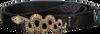 Goldfarbene DEPECHE Gürtel NARROW BELT MISSOURI  - small
