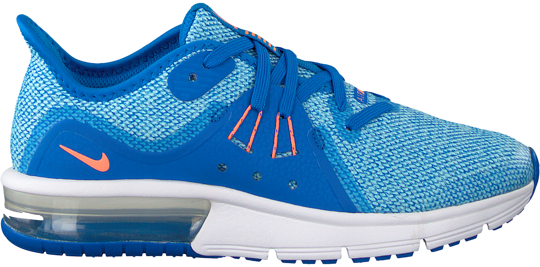 Nike Sneaker Air Max Sequent 3 Schwarz Schnürsenkel Herren