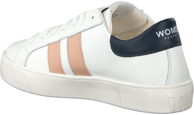 Weiße WOMSH Sneaker low KINGSTON  - large