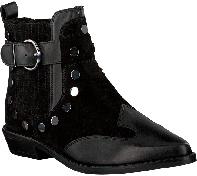 Schwarze BRONX Stiefeletten 47086 - large