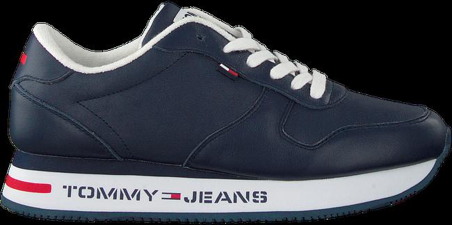 Blaue TOMMY HILFIGER Sneaker low FLATFORM RUNNER  - large