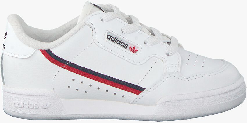 Weiße ADIDAS Sneaker CONTINENTAL 80 I  - larger