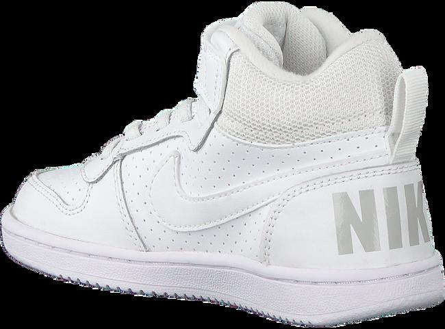 Weiße NIKE Sneaker COURT BOROUGH MID WINTER KIDS  - large