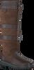 Braune DUBARRY Langschaftstiefel GALWAY - small