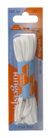Weiße COLLONIL Schnürsenkel VETER - medium