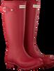 Rote HUNTER Gummistiefel ORIGINAL KIDS - small