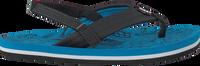 Blaue REEF Zehentrenner GROM REEF FOOTPRINTS - medium