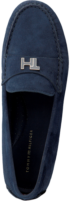 Blaue TOMMY HILFIGER Mokassins TH HARDWARE MOCASSIN  - large