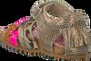 Goldfarbene SHOESME Sandalen BI8S088 - small