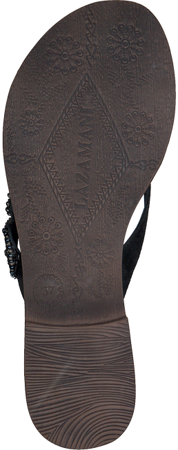 Schwarze LAZAMANI Pantolette 75.645  - large