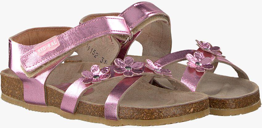 pink RED RAG shoe 19152  - larger