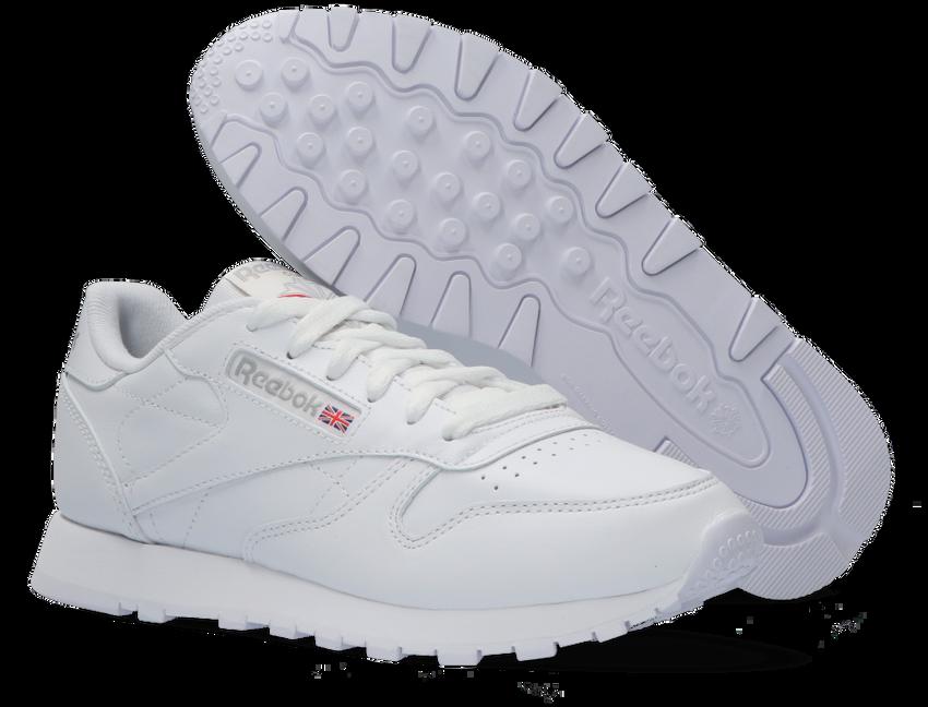 Weiße REEBOK Sneaker CL LEATHER WMN - larger