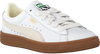 Weiße PUMA Sneaker BASKET CLASSIC GUM DELUXE PS - small