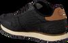 Schwarze WODEN Sneaker YDUN CROCO  - small