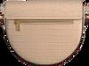 Beige COCCINELLE Umhängetasche BEAT CROCO 1501  - small