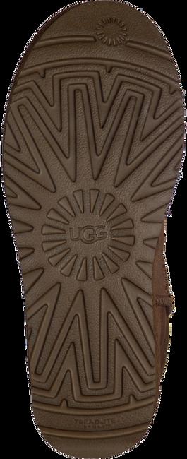 Kamelfarbene UGG Winterstiefel W CLASSIC MINI II - large
