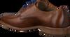 Cognacfarbene BRAEND Business Schuhe 16086  - small