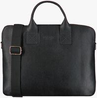 Schwarze MYOMY Laptoptasche MY PHILIP BAG LAPTOP  - medium