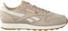 Beige REEBOK Sneaker CL LEATHER TL MEN - small