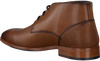 Cognacfarbene MAZZELTOV Schnürboots 11.950.6605  - small