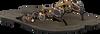 Schwarze LAZAMANI Zehentrenner 33.619 - small
