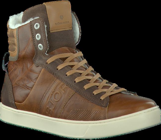 Cognacfarbene BJORN BORG Sneaker KANSAS HIGH - large