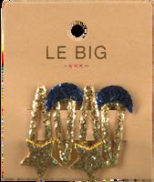 Goldfarbene LE BIG Stirnband PEARL HAIRCLIPS  - medium