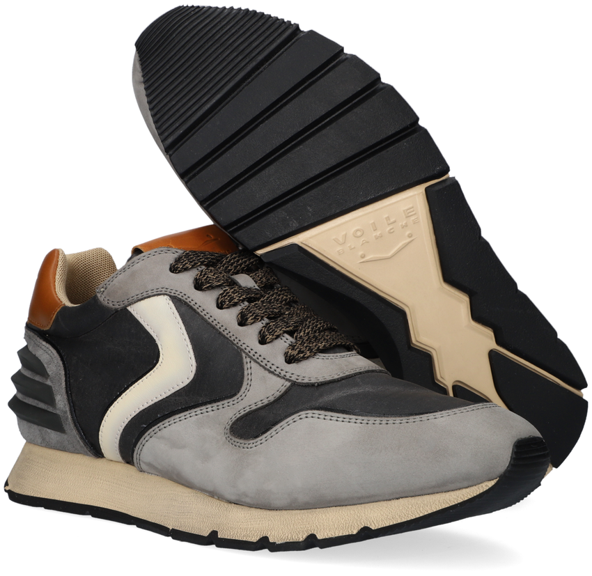 Graue VOILE BLANCHE Sneaker LIAM POWER  - larger