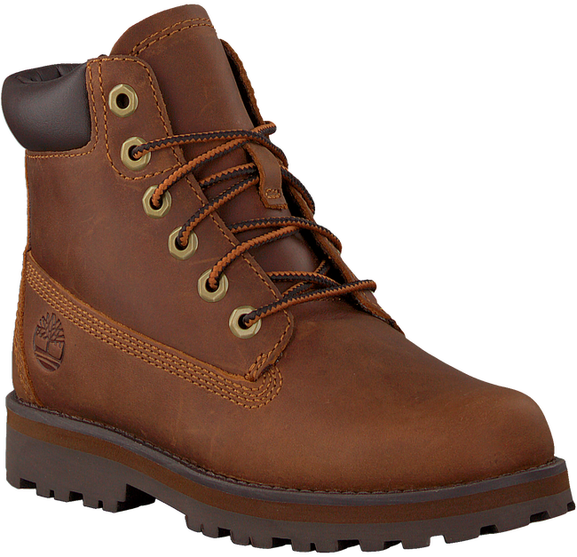 Cognacfarbene TIMBERLAND Schnürboots COURMA KID TRADITIONAL 6 INCH  - large