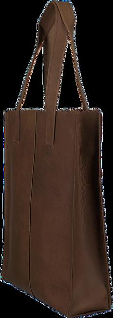 Braune MYOMY Handtasche LONG HANDLE ZIPPER - large