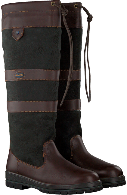 Braune DUBARRY Langschaftstiefel GALWAY - large