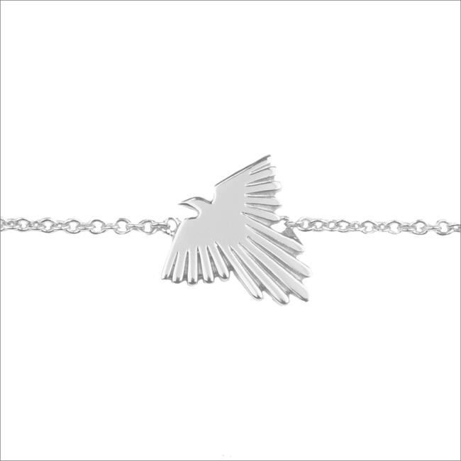 Silberne ALLTHELUCKINTHEWORLD Armband SOUVENIR BRACELET EAGLE - large