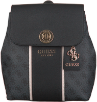 Schwarze GUESS Handtasche CATHLEEN BACKPACK  - medium