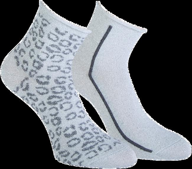 Graue MARCMARCS Socken AMY COTTON 2-PACK  - large