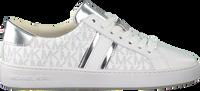 Weiße MICHAEL KORS Sneaker low IRVING STRIPE LACE UP  - medium