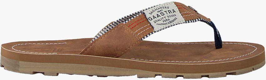 Cognacfarbene GAASTRA Pantolette GERTON  - larger