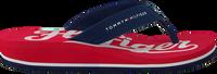 Rote TOMMY HILFIGER Pantolette BASEBALL PRINT FLIP FLOP  - medium