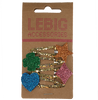 Mehrfarbige/Bunte LE BIG Stirnband NELISE HAIRCLIPS  - small