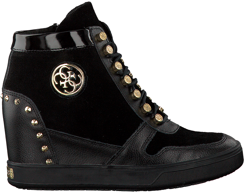Beliebte Online Rabatte Verkauf Online FLLAN3 SUE12 Sneakers Frauen Black 38 Guess Rabatt Top-Qualität Austrittsspeicherstellen Günstig Kaufen Niedrigen Preis wijCE